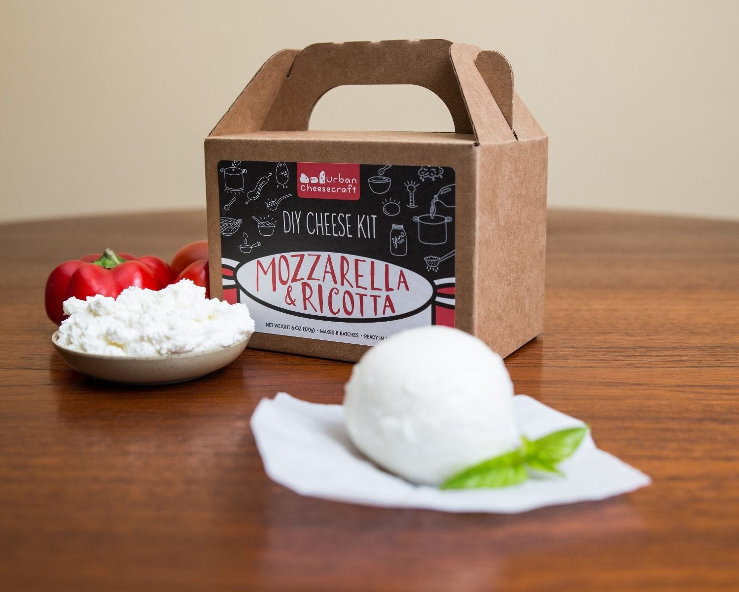 DIY Mozzarella Cheese Kit