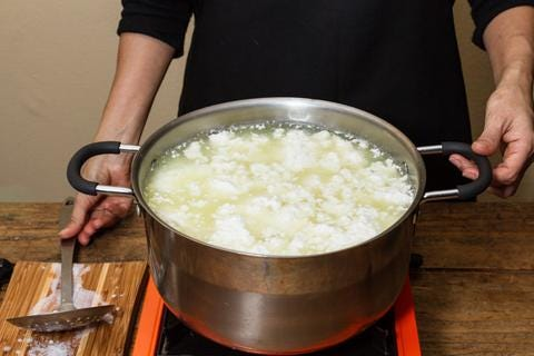 allow curds to set