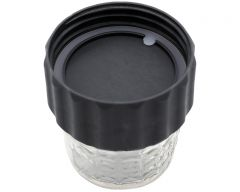 2-in-1 Lid to Connect Two Regular Mouth Mason Jars, 2-Pack