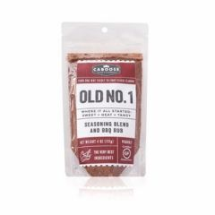 Old No. 1 Sweet + Heat + Tangy Seasoning & BBQ Rub - 4 oz. pouch