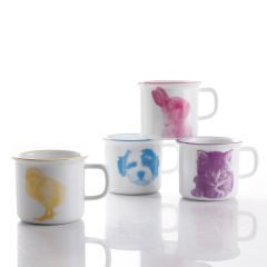 Baby Animal Mugs, Set of 4
