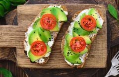 Black Sesame Sriracha Avocado Toast