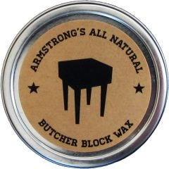 Armstrong's Butcher Block Wax