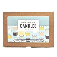 Candle Kit, Make Your Own Candles with Soy Wax and Essential Oils