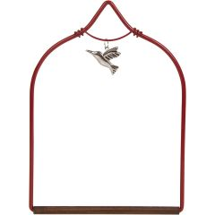 Pop's Hummingbird Swing - Charmed Red
