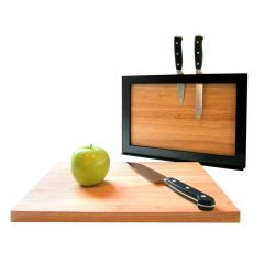 Knife and cutting board holder