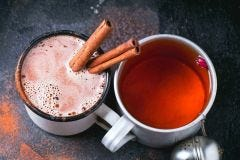 Crystallized Honey-Cinnamon Holiday Tea