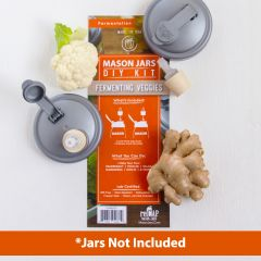 reCAP® Mason Jars DIY Kit: Fermenting Veggies