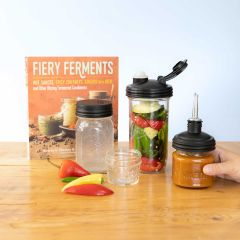 Mason Jars Fiery Fermentation Bundle