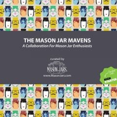 Free Mason jar mavens collaboration for mason jar enthusiasts ebook download with recipes, gift ideas, and more