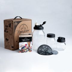 reCAP Mason Jars Art of Aperitivo: Italian Happy Hour Gift Set