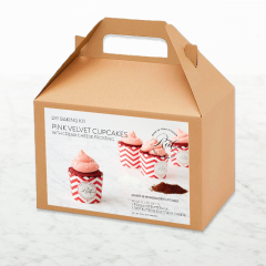 DIY Baking Kit: Pink Velvet Cupcakes