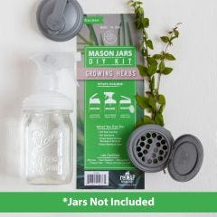 reCAP® Mason Jar Herb Kit