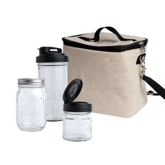 reCAP® Mason Jars Pack & Go Lunch Box Kit