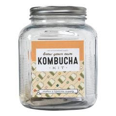 Kombucha Kit, Brew Your Own with 1 Gallon Jar