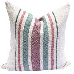 Multi Stripe Pillow - Holiday