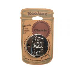 Reusable EcoJarz Drinking Jar Lid