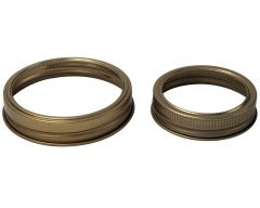Copper Bands / Rings for Mason Jars, 10-pack