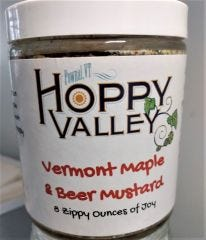 Vermont Maple Beer Mustard
