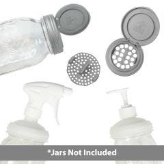 reCAP® Mason Jar Lids Six Piece Cleaning Kit