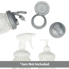 Mason Jar Lids Starter - Jars Not Included