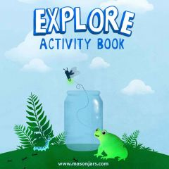 reCAP Kids Explore activity book download for kids to learn about insects and nature