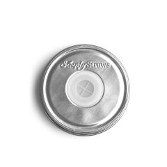 4.0 Mason Straw Lid - Polished Stainless Steel