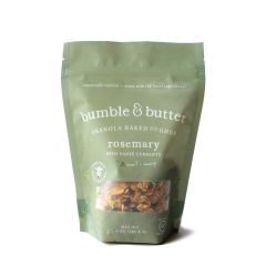 bumble & butter Rosemary Granola baked with Grass-fed Ghee. Gluten-free, Organic