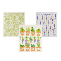 Wet-It Herb Sponge Cloth Set of 3