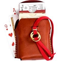 Misc. Goods Co. Leather Double Playing Cards Case
