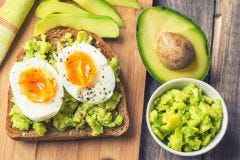 Smoked Open-Face Avocado Sandwich