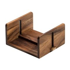 Adjustable Acacia Wood Luncheon Napkin Holder