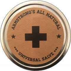 Armstrong's All Natural Salve