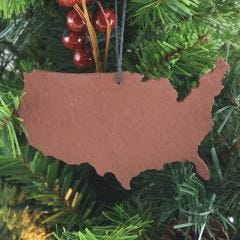 UNITED STATES SLATE CHRISTMAS ORNAMENT