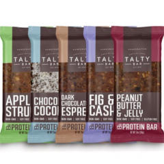 Talty Bar Gluten & Soy Free Protein Bar Variety Pack
