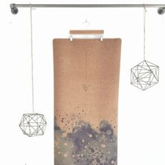 [travel series] WA>NDER cork yoga mat