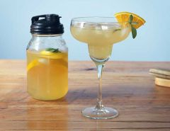 Sage Infused Whiskey Lemonade