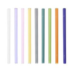 Wide Single Glass Straw