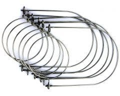 Stainless Steel Wire Handles for Mason Jars, 6-Pack