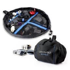 "Lay-n-Go WIRED Cord and Tech Bag (19"")"