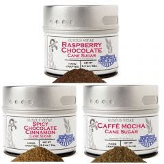 Chocolate Lover Cane Sugar Collection - 3 Tins