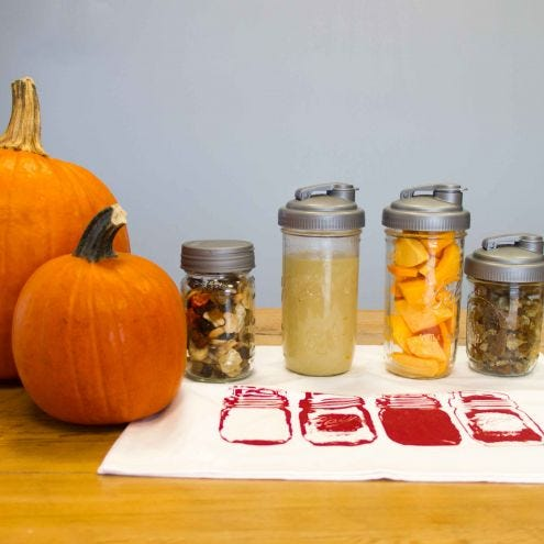 Thanksgiving Leftover Storage with reCAP® Mason Jars