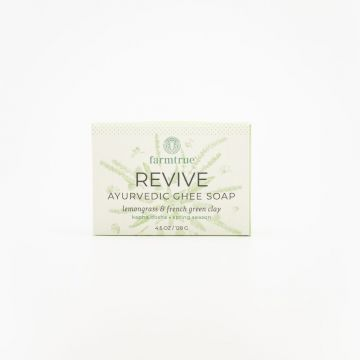Revive Ghee Soap – Lemongrass & French Green Clay