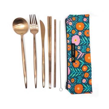 Reusable Eco-Pack Travel Cutlery Set