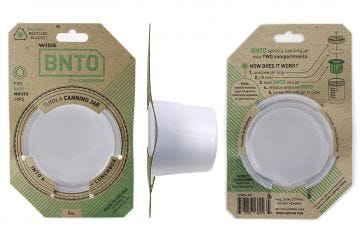 Cuppow Mason Jar Divider Cup BNTO | Wide Mouth