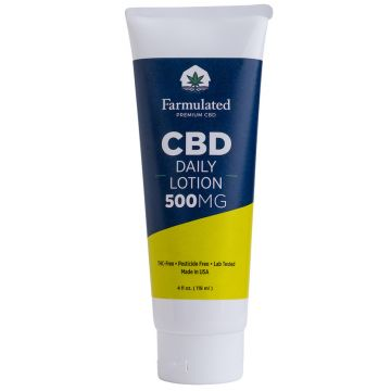 Daily lotion with Terpenes, 500mg
