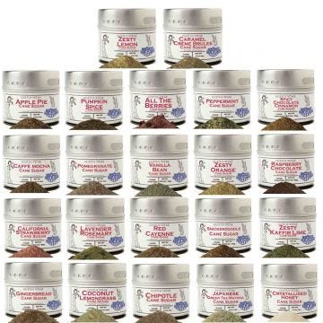 Ultimate Cane Sugars Collection - 22 Tins