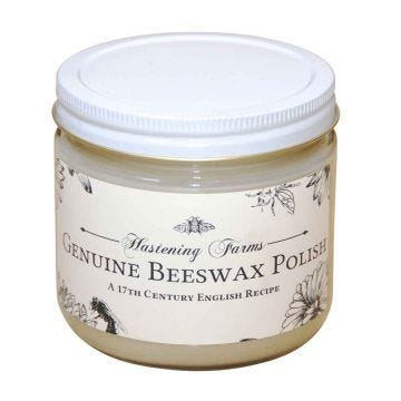 Hastening all Natural beeswax furniture polish nourishes and polishes any wood surface