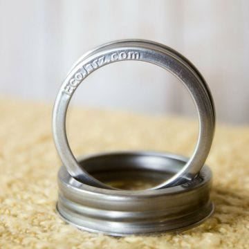 Stainless Steel Jar Band