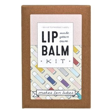 Lip Balm Kit, Make Your Own All-Natural